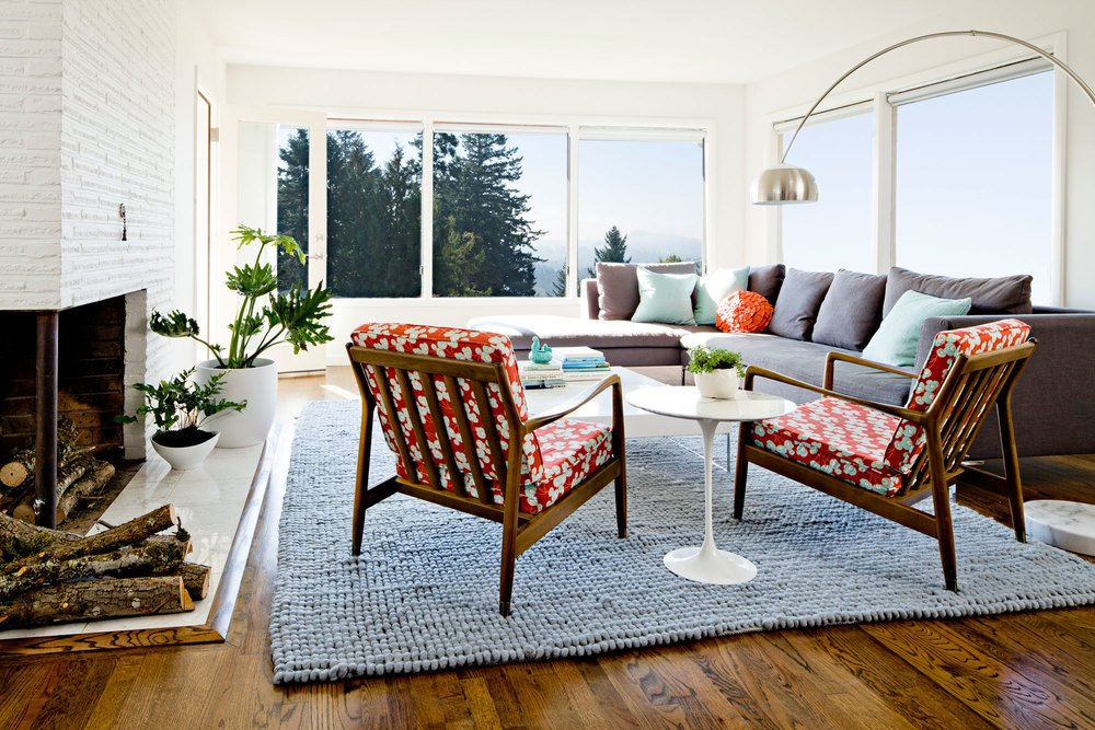 jessica Helgerson - 50s Remodel - living room