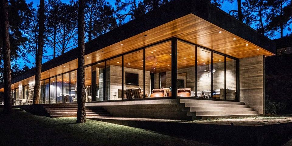 modern house - Wernerfield architects - texas - exterior
