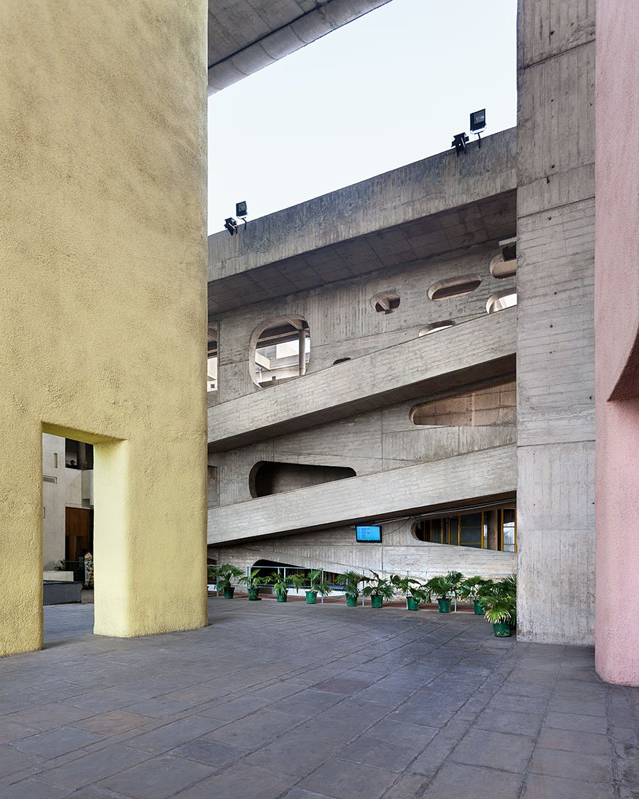 Le Corbusier - Chandigarh city - Manuel Bougot photography