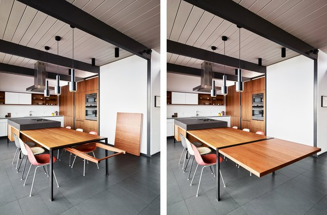 Eichler house renovatiom - Michael Hennessey - kitchen