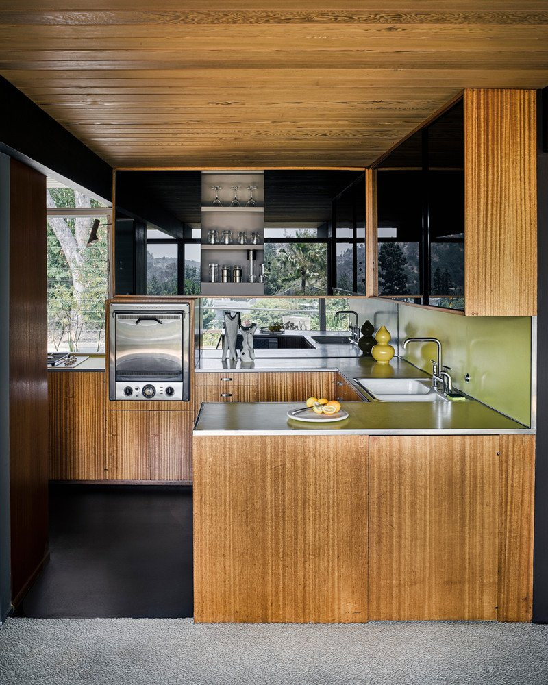 Kitchen Backsplash Mid Century Modern: Richard Neutra's Hailey Residence, Has Hardly Changed A