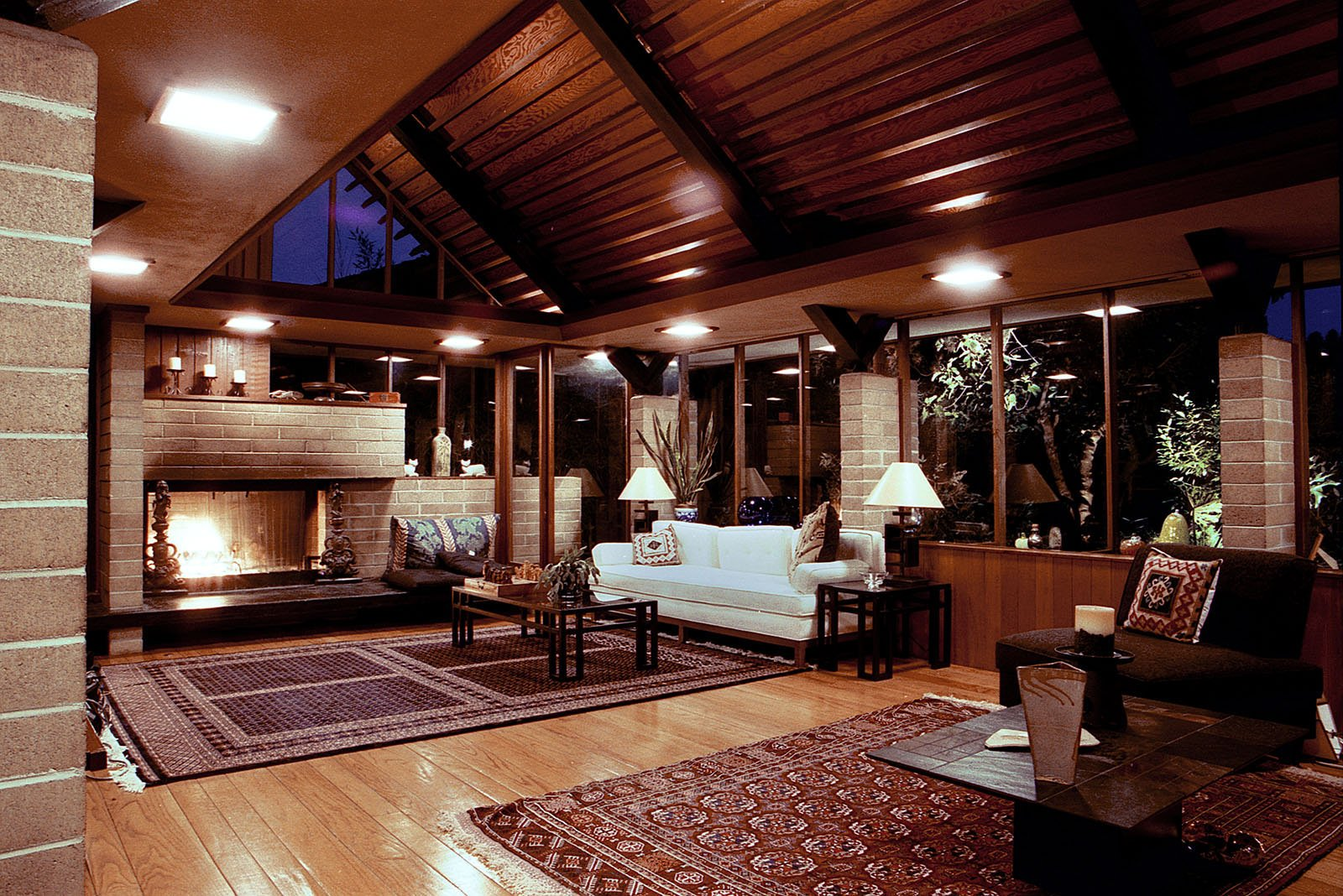 William A. Whifler House - living room