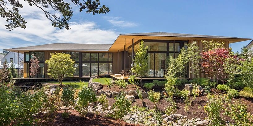 contemporary home - kengo-kuma-suteki-home-portland-oregon- exterior front