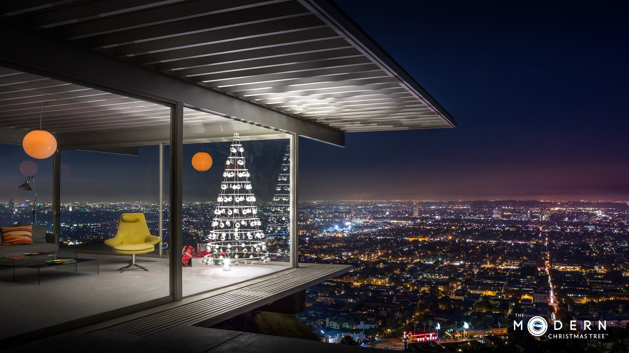 The Perfect Tree For A Mid Century Style Christmas Mid Century Home