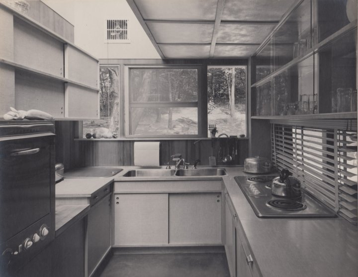 The Lurie House, designed by Kaneji Domoto - kitchen