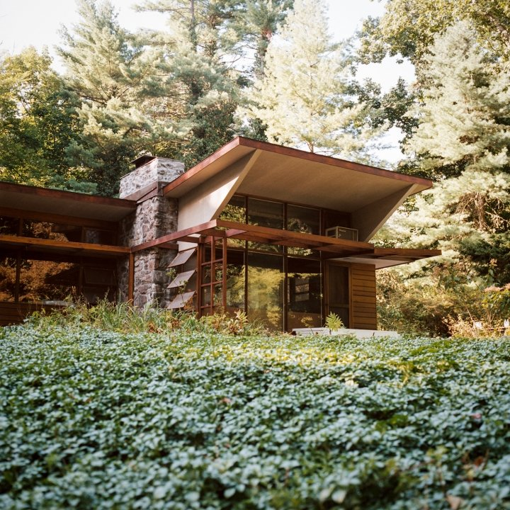 The Lurie House, designed by Kaneji Domoto - exterior