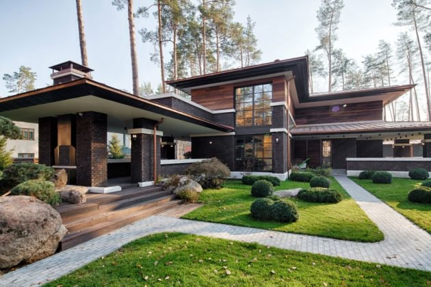 Prairie style House - frank lloyd wright inspired