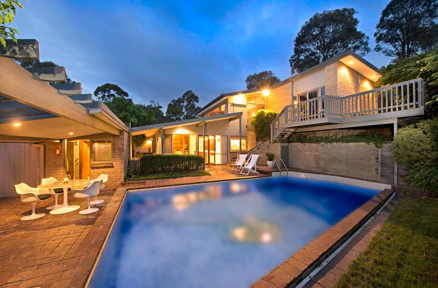 Canberra Home renovation by Sold on Styling - exterior pool