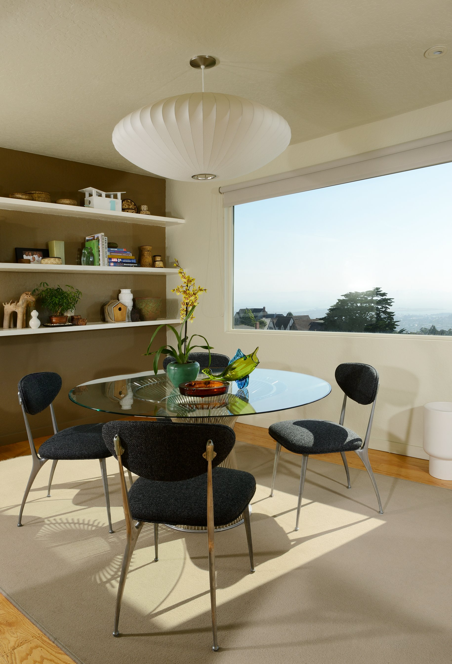 mid-century home in kensington, ca - dan chavkin - dining room