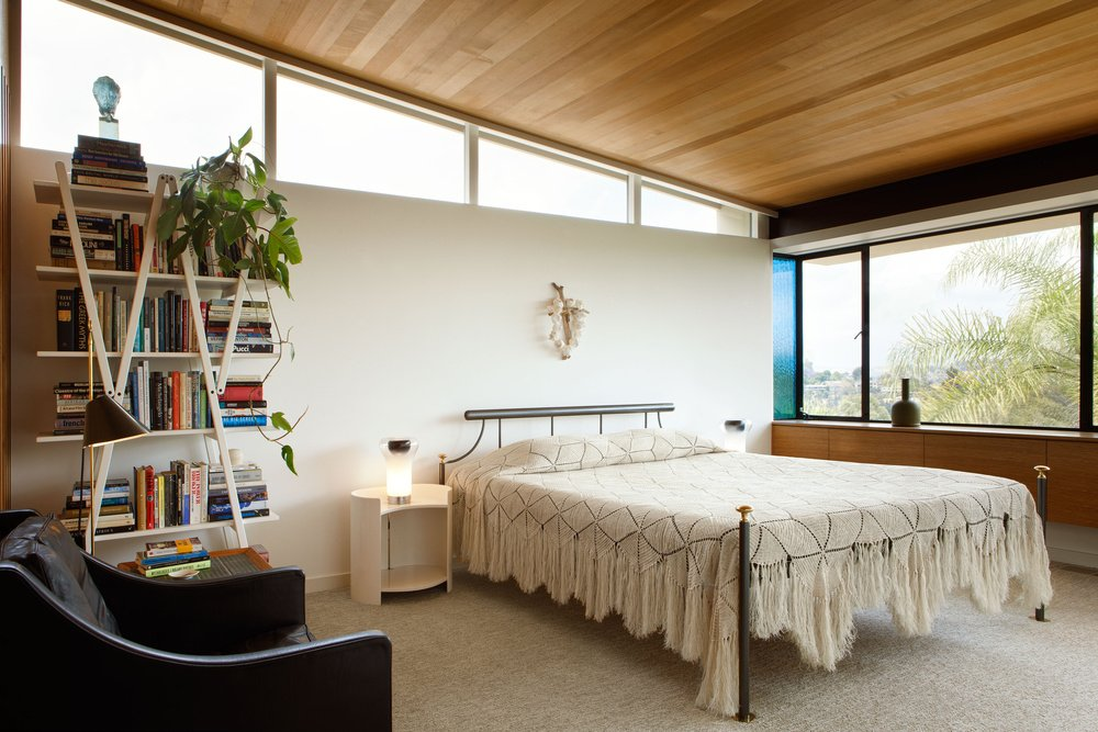 mid-century house renovation - The Archers - Hill House V - bedroom