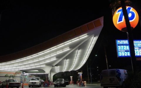 Jack Colker's 76 Station los angeles -