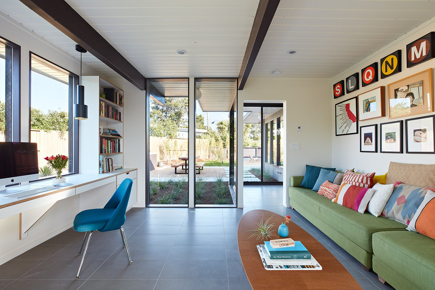Eichler house in San Mateo Highlands - Klopf architecture - studio