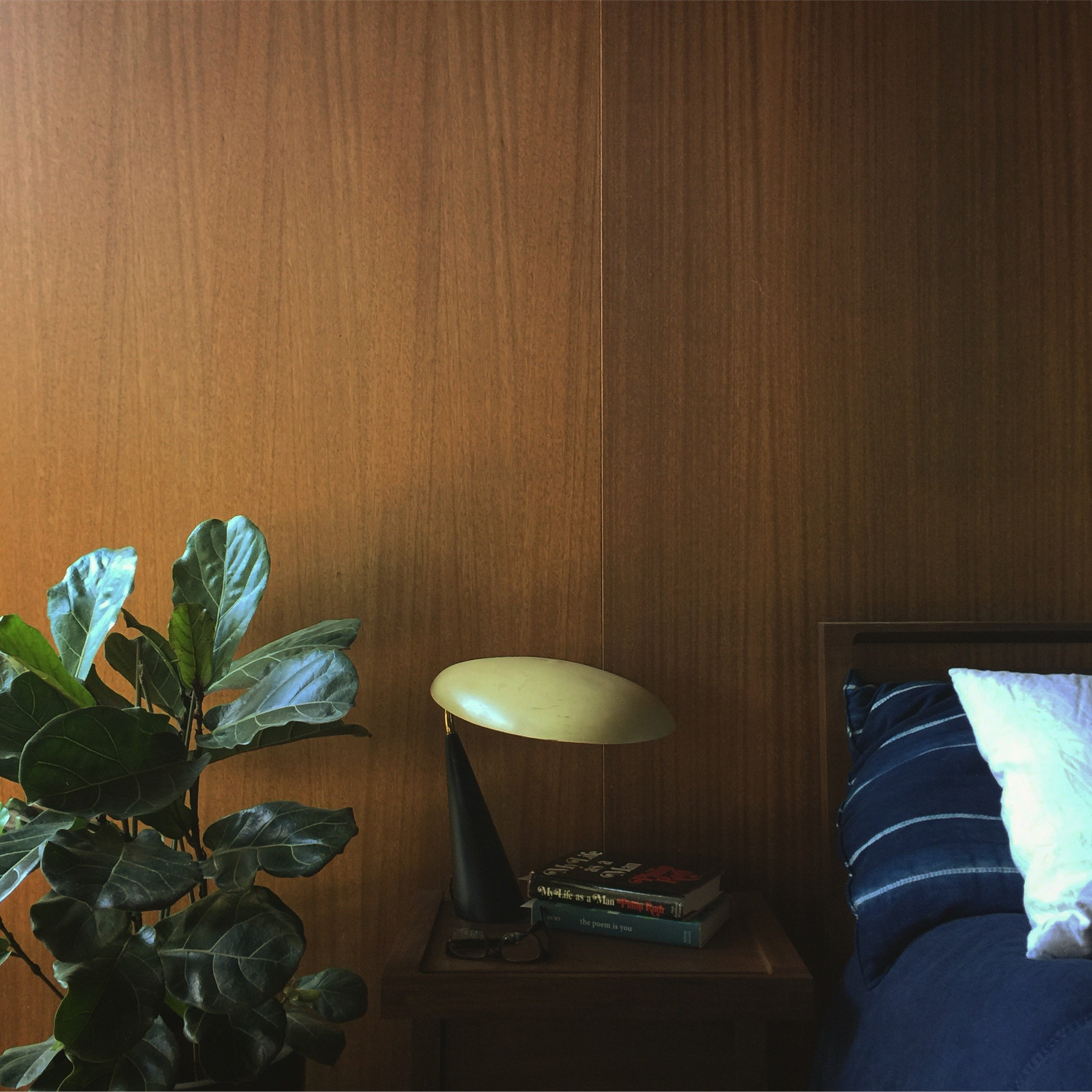 Amy Keeler - Eichler House in Palo Alto - interview - bedroom
