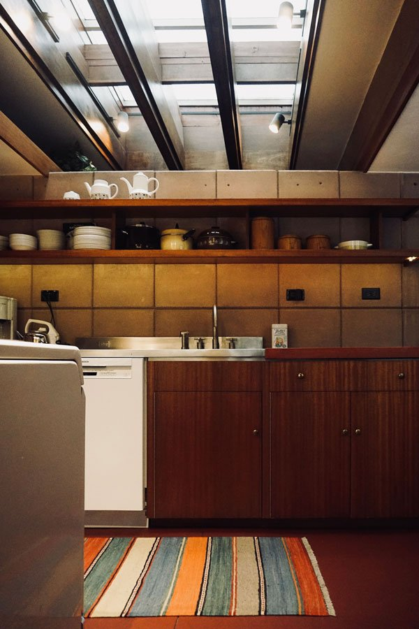 Frank Lloyd Wright - Eppstein House - kitchen