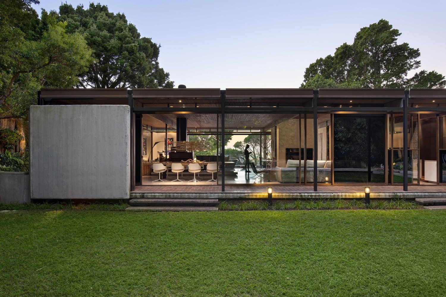 Renovated Mid-Century Home in Cape Town by SAOTA - exterior back