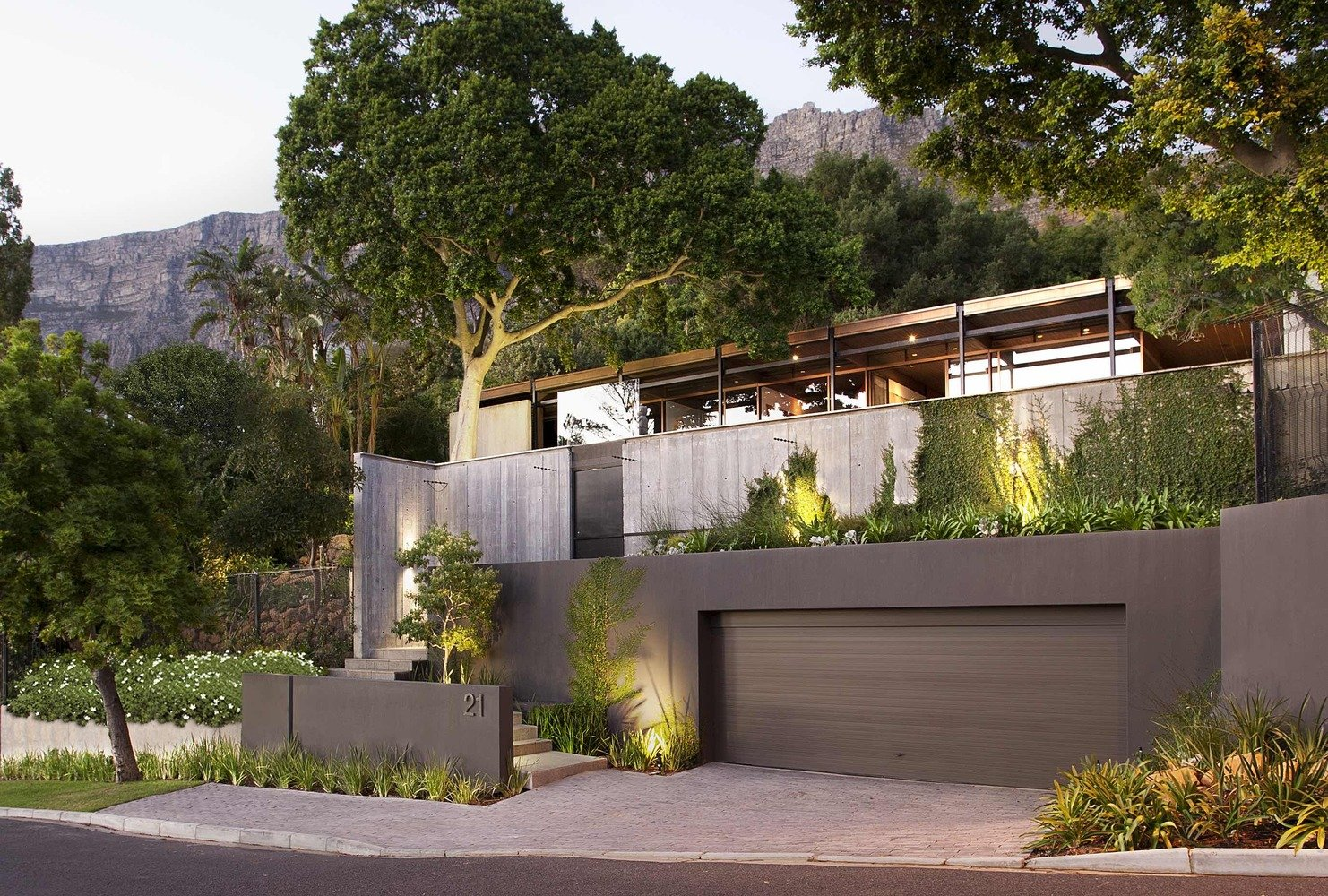 Renovated Mid-Century Home in Cape Town by SAOTA - front