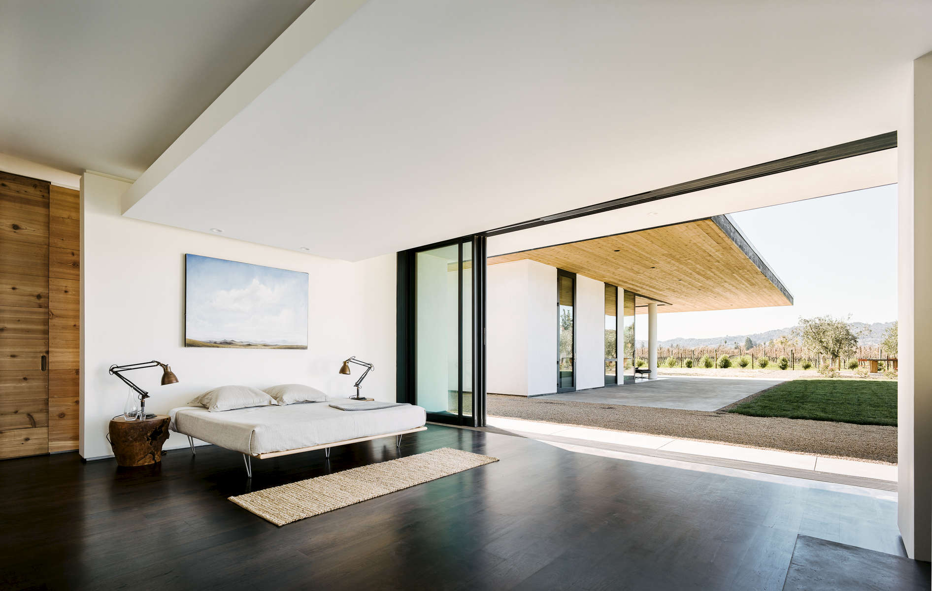 Jorgensen Design - Oak Knoll contemporary Residence - bedroom