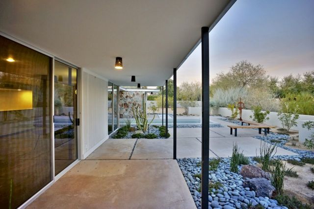 Mid-century in Arizona by Alfred Newman Beadle - outside