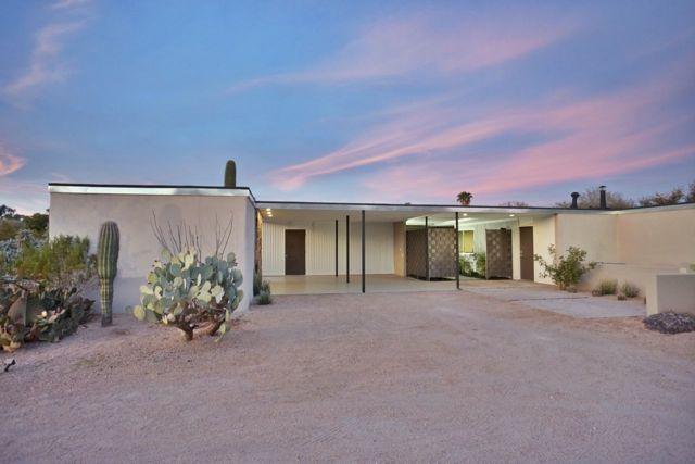 Mid-century in Arizona by Alfred Newman Beadle -