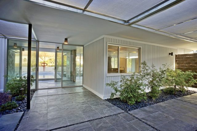 Mid-century in Arizona by Alfred Newman Beadle - patio