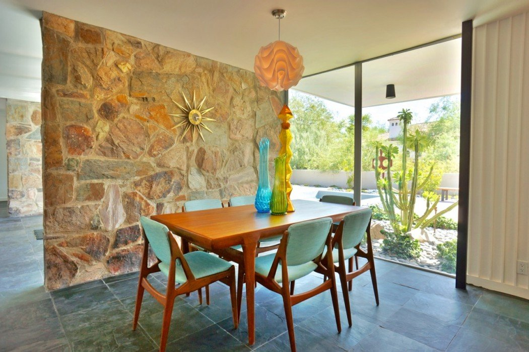 Mid-century in Arizona by Alfred Newman Beadle - dining area