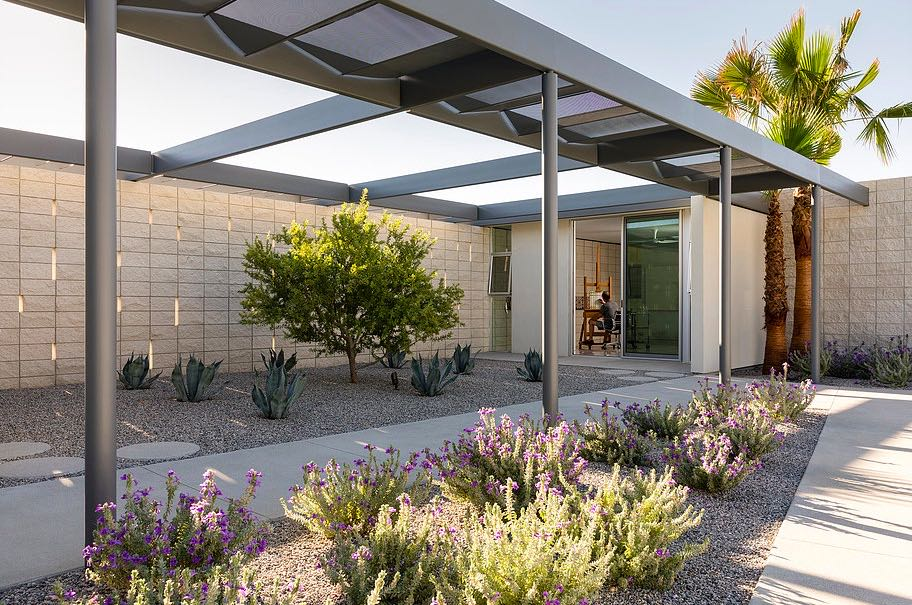 South Palm Canyon Uno​ - O2 ARCHITECTURE - exterior garden