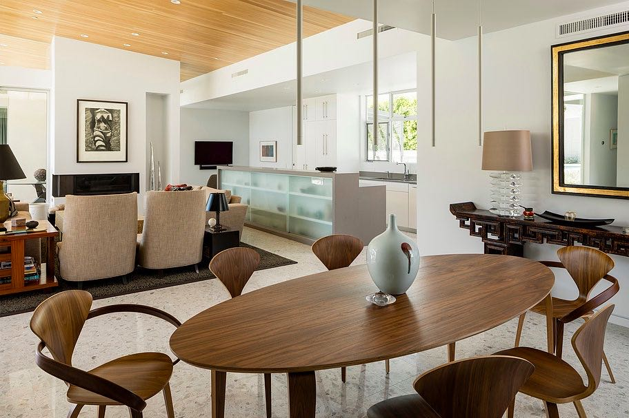 South Palm Canyon Uno​ - O2 ARCHITECTURE - dining area