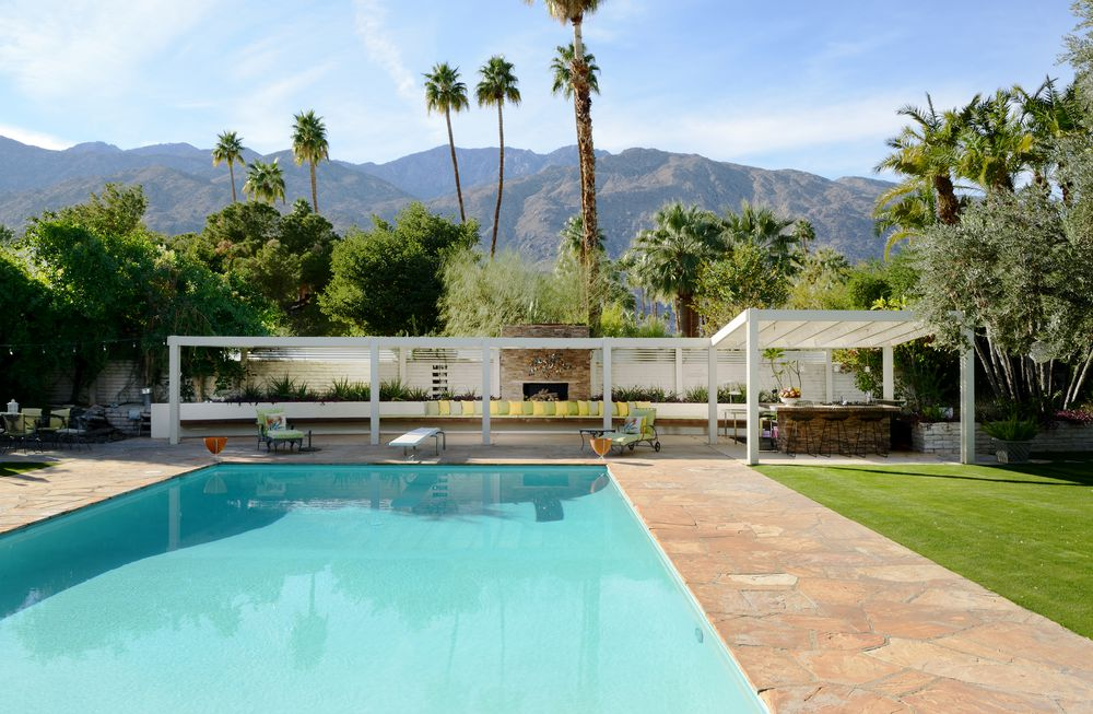Palms Springs mid-century - Koerner House - E Stewart Williams - pool