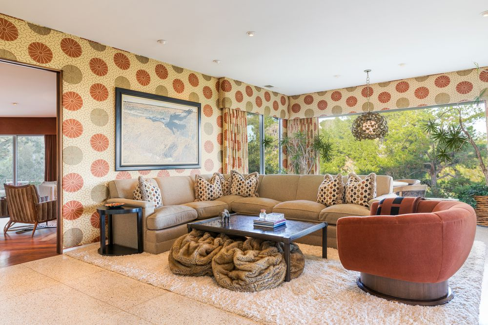 Bel air mid-century time capsule house - living room