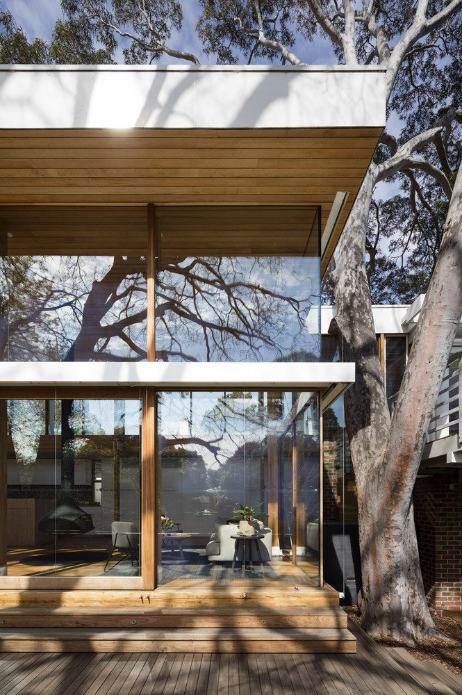 mid-century renovation in Victoria - Camberwell House - AM Architecture - exterior