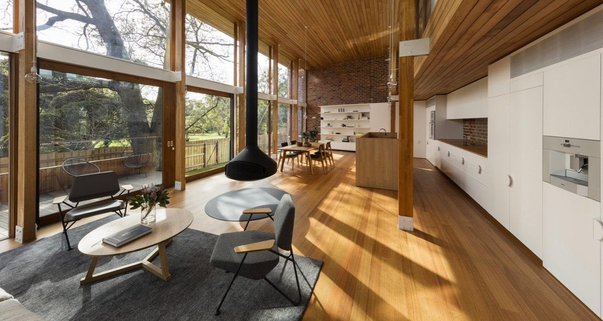 Mid Century Home Design. The Renovation Of This Mid Century House in Victoria  Is All About Space century Modern Architecture Homes Design Home