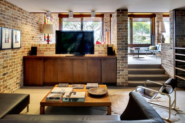 mid-century inspired in Sydney - Erby House - relax area