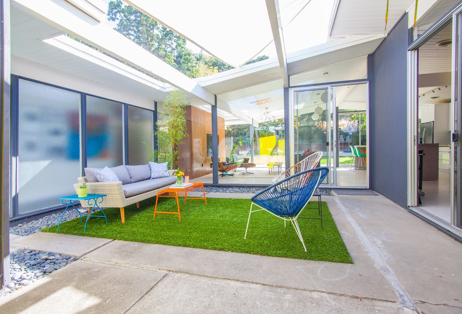 Karen Napacena - Eichler Renovation Walnut Creek - patio