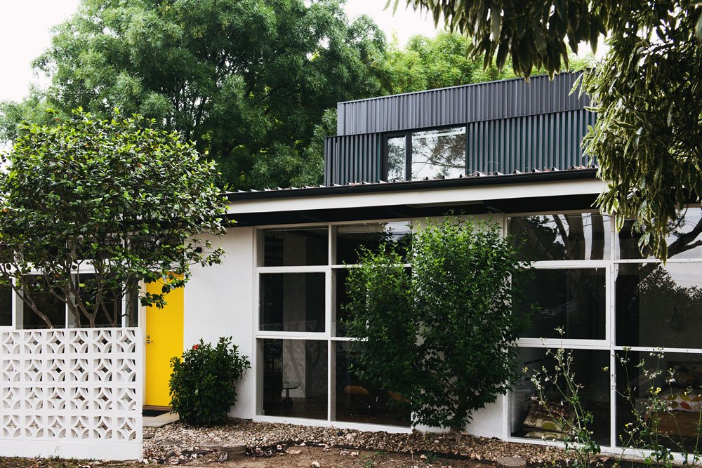 mid-century house in melbourne - Rosanna Nest architects - exterior
