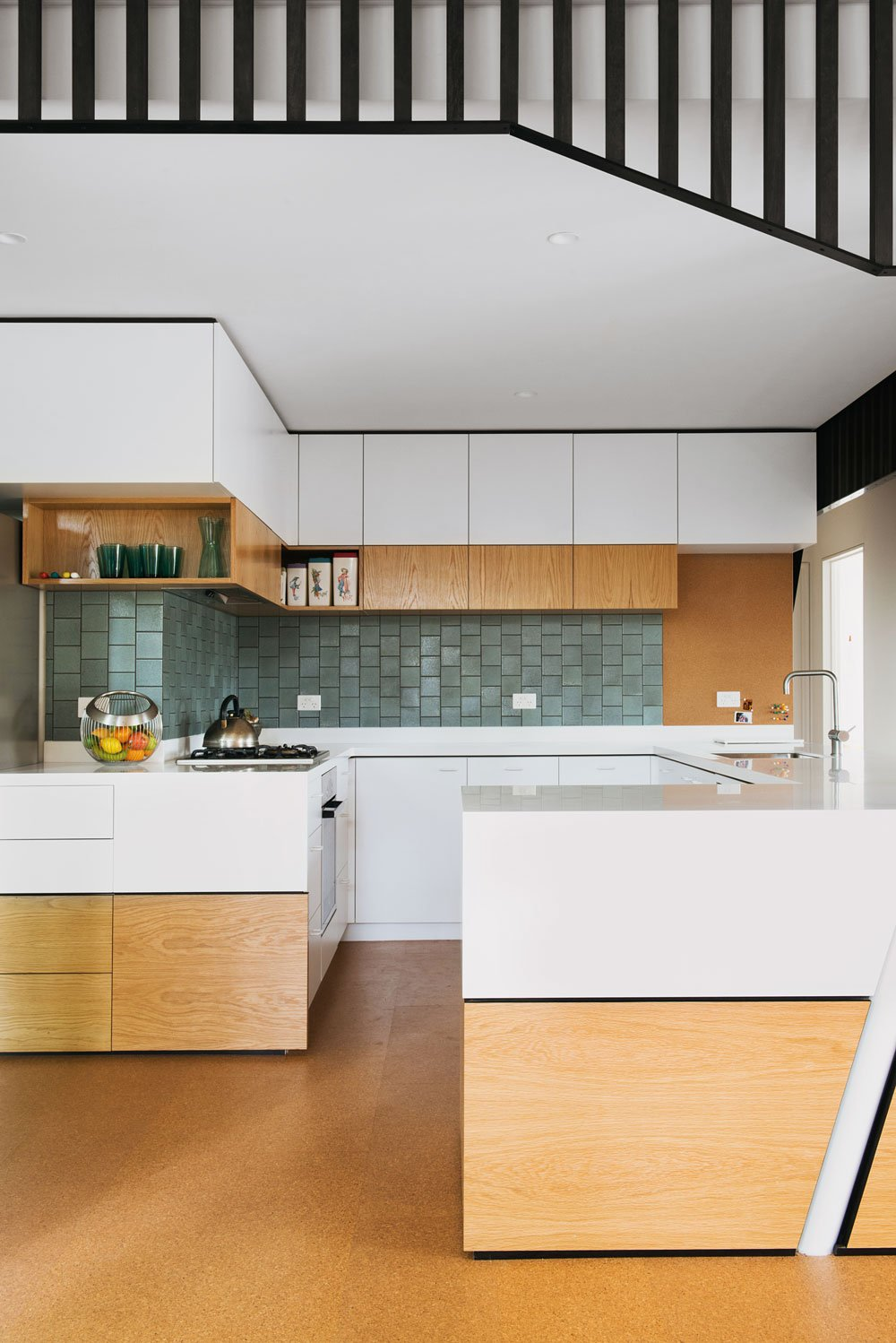 mid-century house in melbourne - Rosanna Nest architects - kitchen