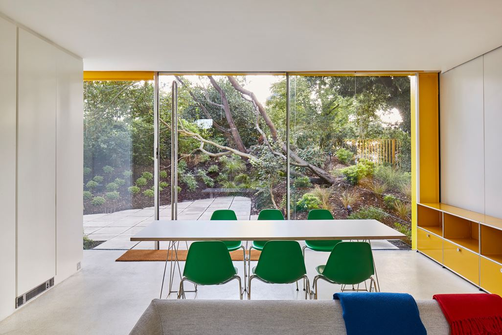 Richard Rogers - Parkside - renovation - dining area
