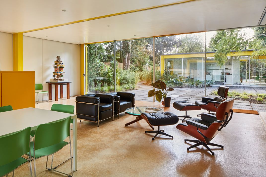Richard Rogers - Parkside - renovation - living room