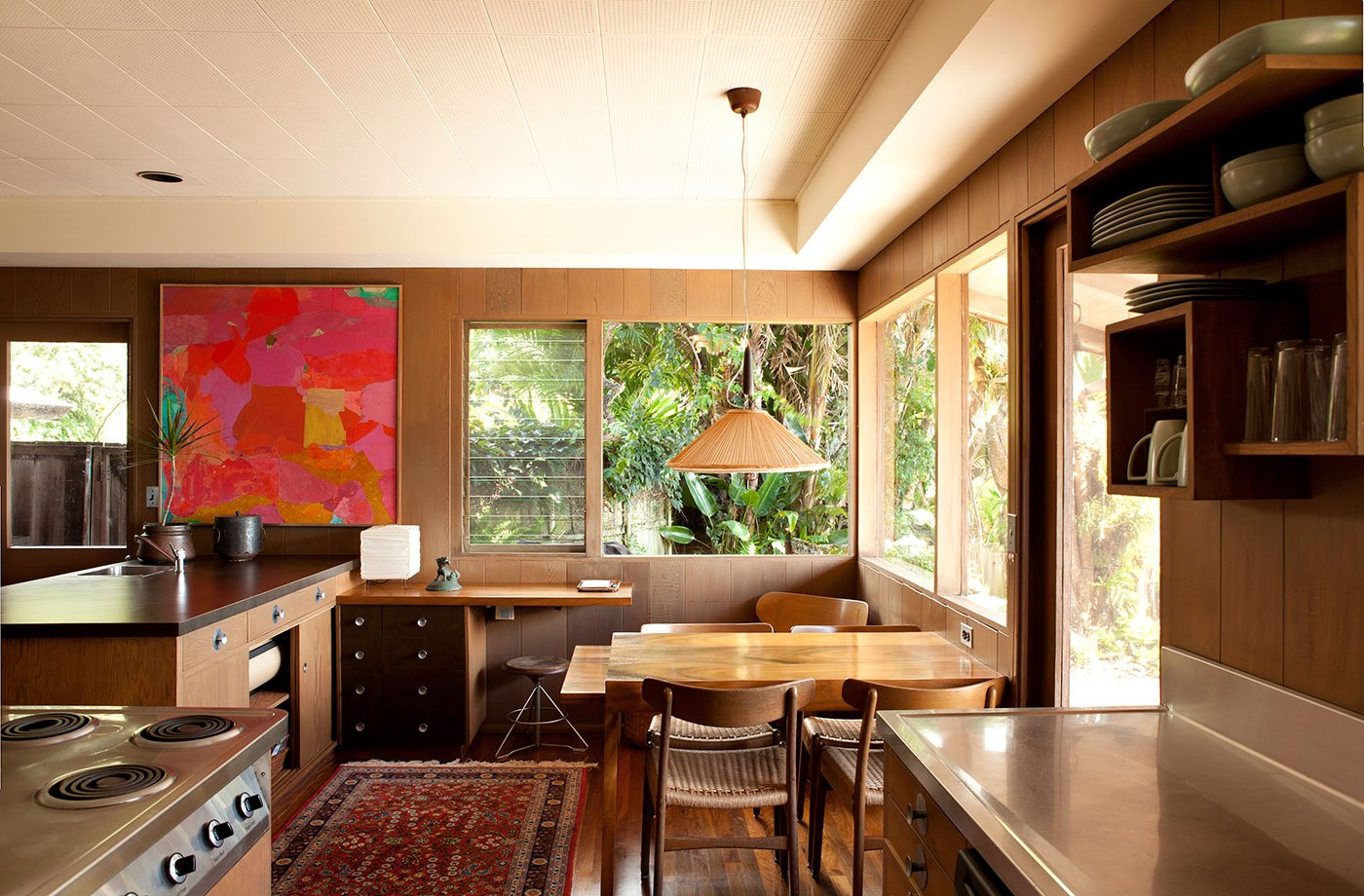 Liljestrand House - Honolulu, Hawaii - Vladimir Ossipoff - kitchen