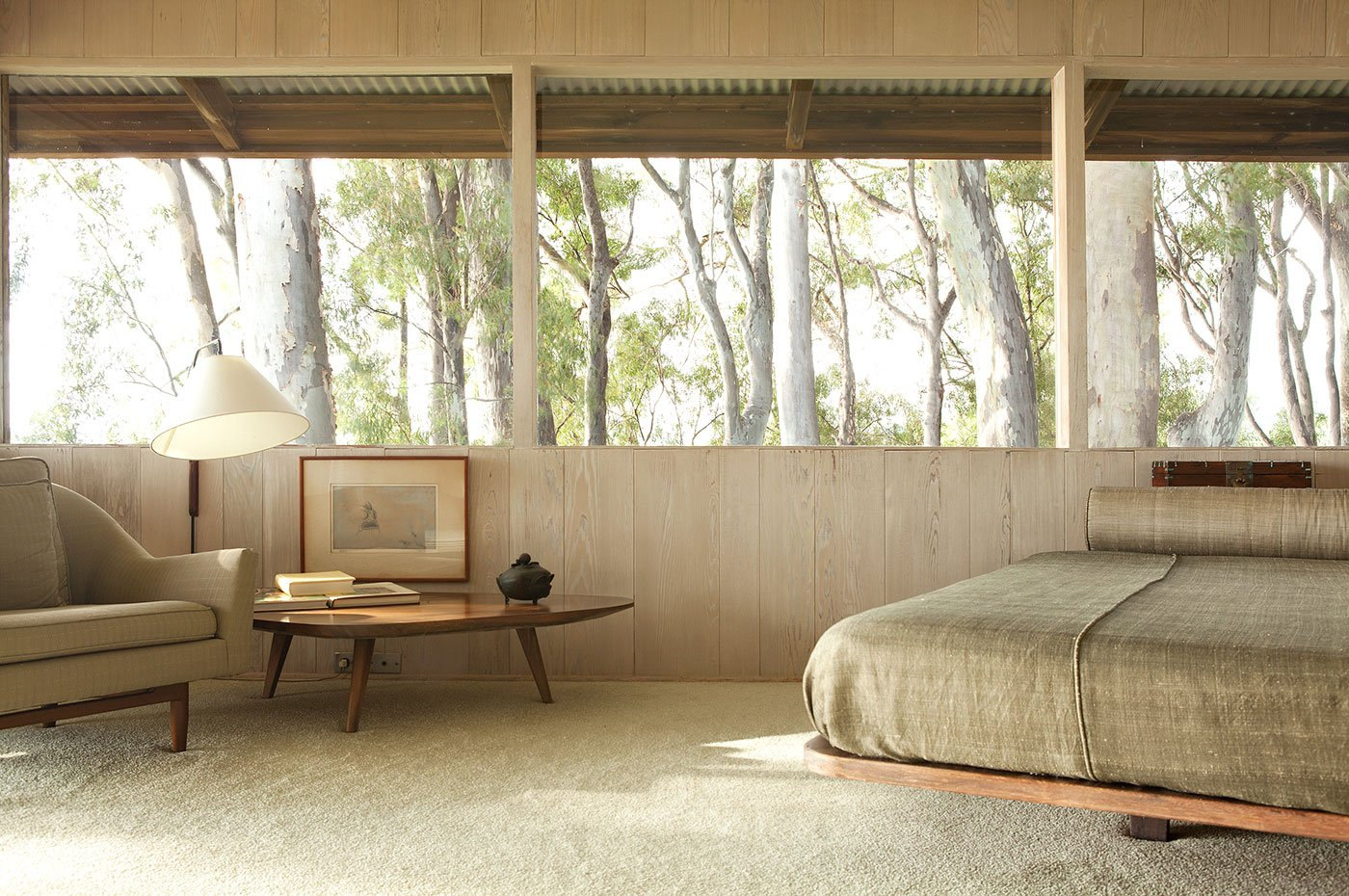 Liljestrand House - Honolulu, Hawaii - Vladimir Ossipoff - bedroom