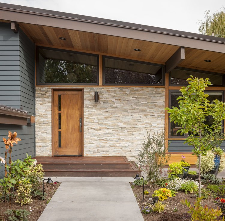 madison mid-century house seattle - first lamp architects -