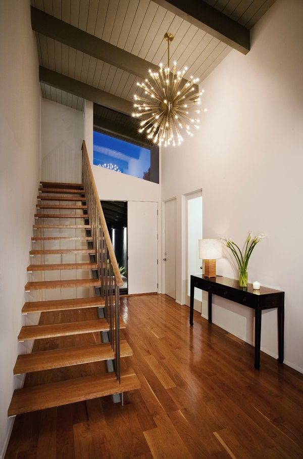 Architect Cory Buckner - Crestwood Hills - Riley Residence - entrance