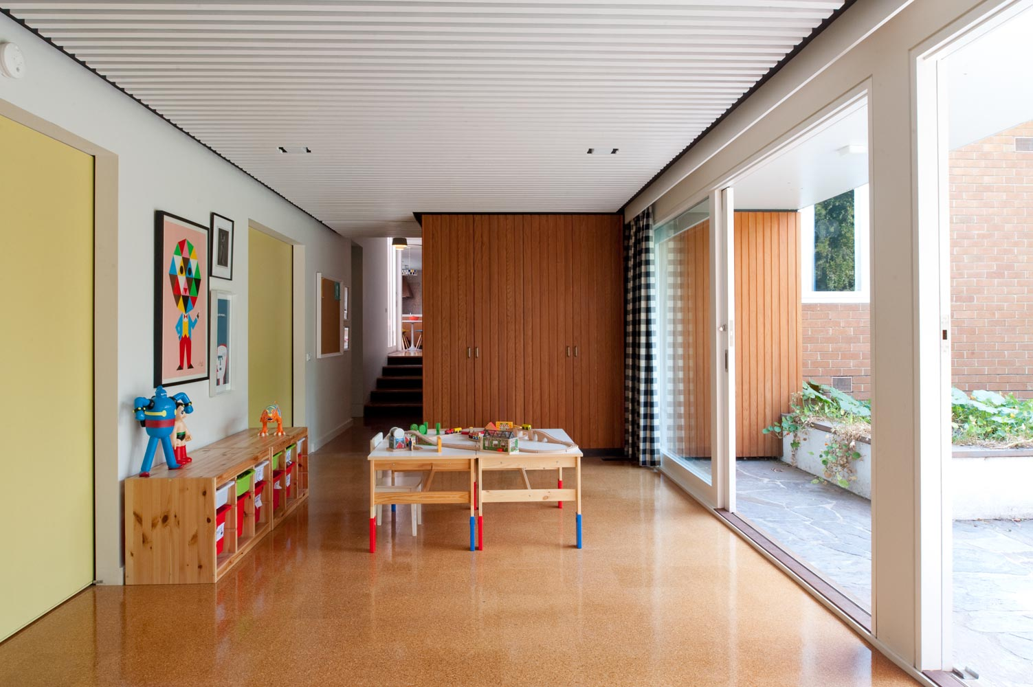 Balwyn Road - Nest Architects - children playroom
