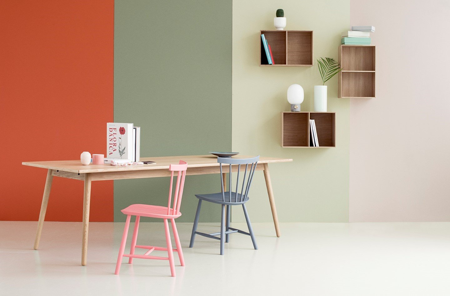 FDB Mobler - Desk and chairs