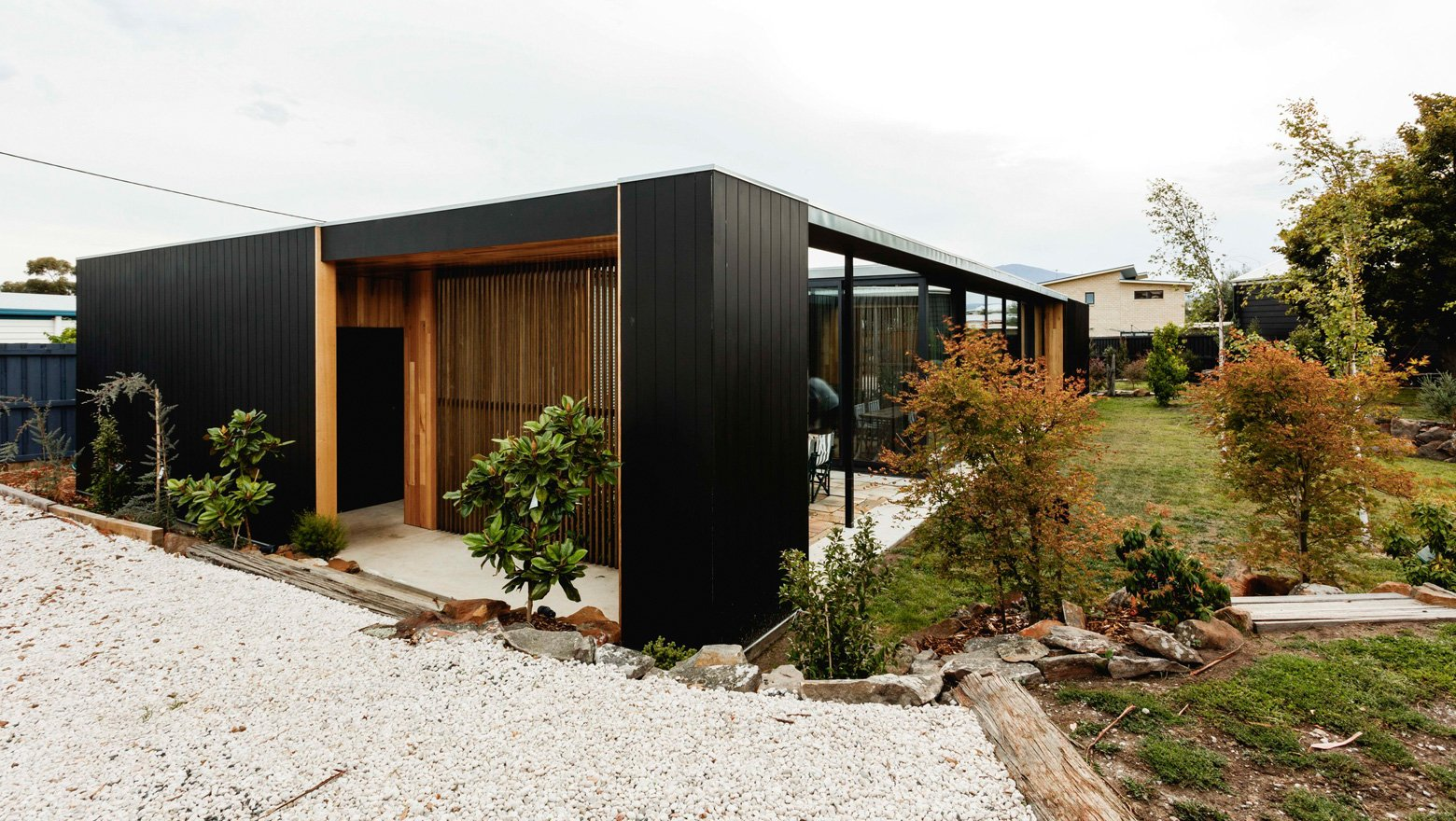 Five Yards modern House - Archier architects - exterior
