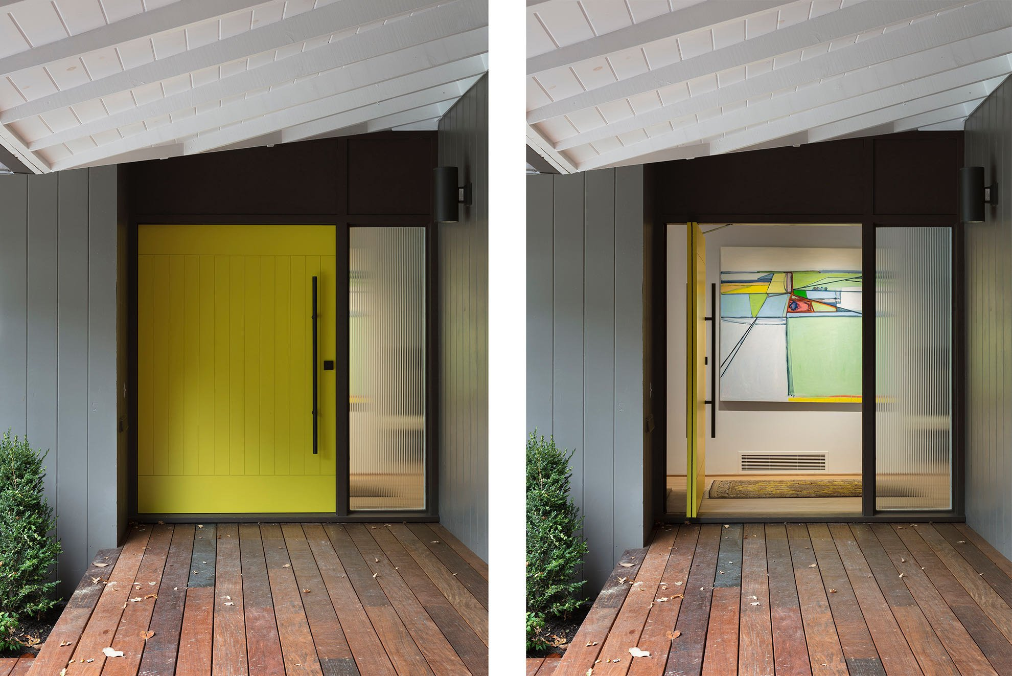 Forward ARchitecture - Wurster Residence - entrance door