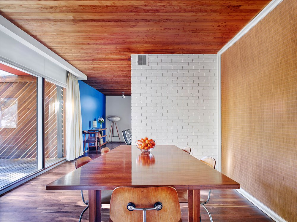 Marcel Breuer's Snower House - Hufft renovation - dining area