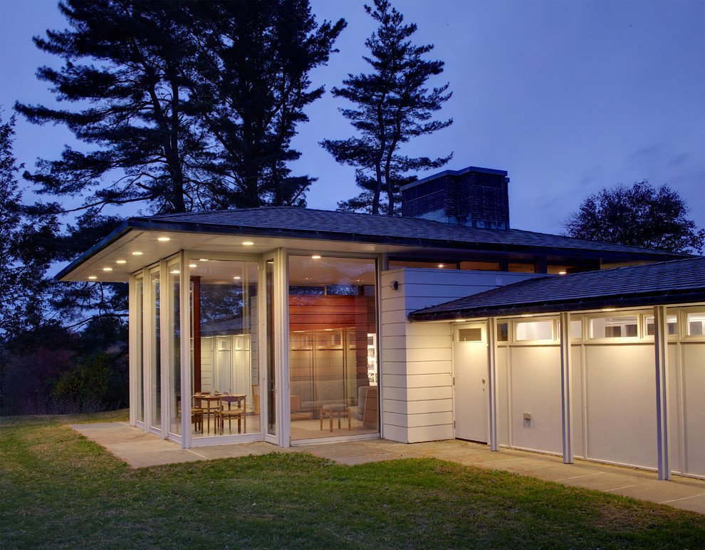 Gores pavilion New Canaan - outside night