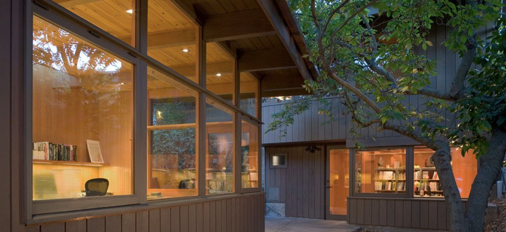 mid-century house in oxford - koch architects - exterior
