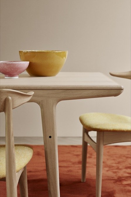 warm nordic - ever more dining table-
