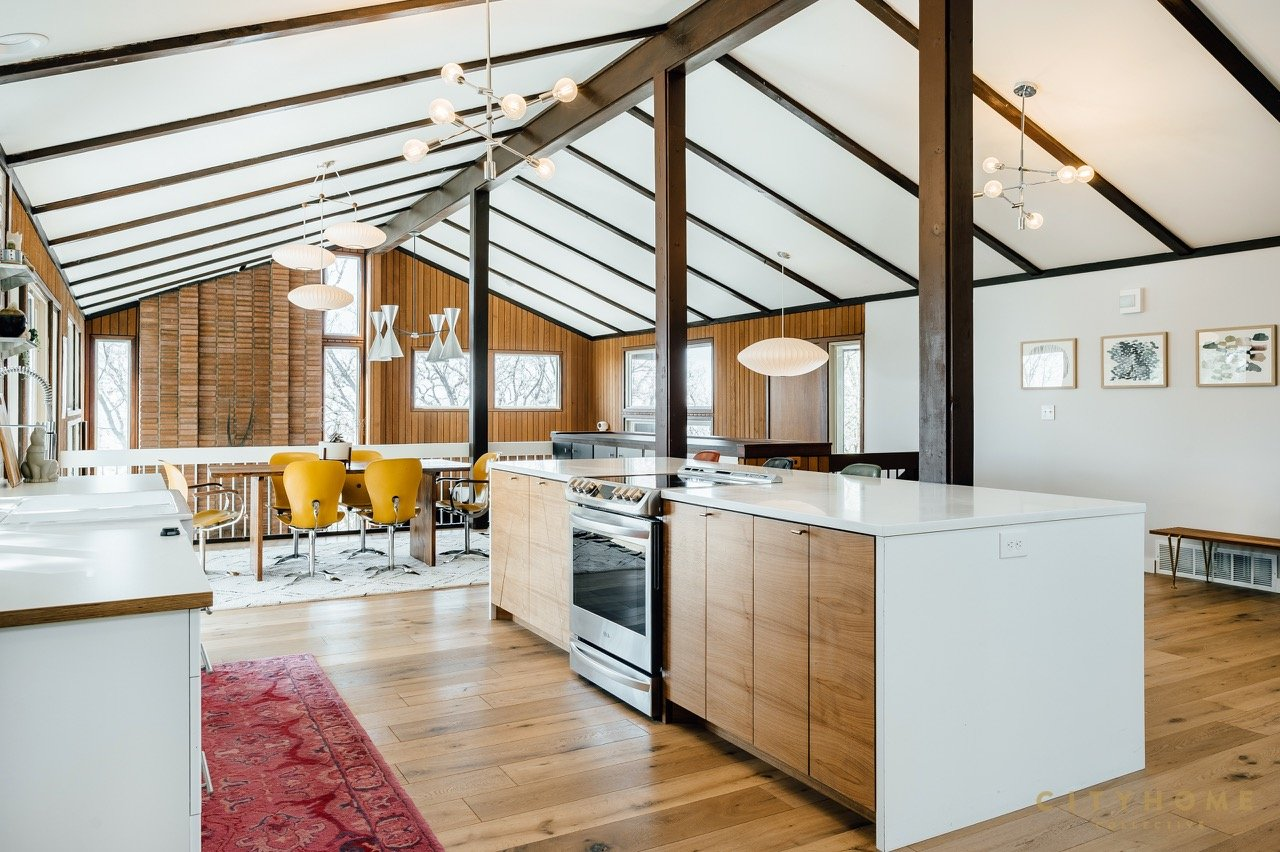 mid-century house for sale in Utah - kitchen